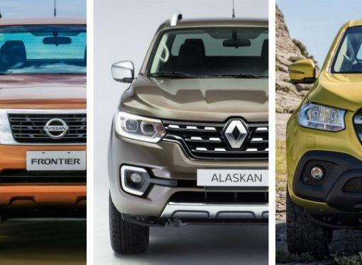 En qué se diferencian Frontier, Alaskan y Clase X