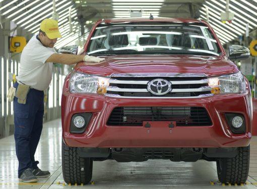 Producción 2017: Toyota y Hilux arrasaron