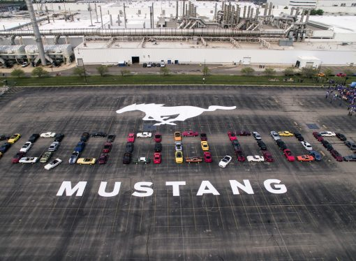 Ford produce el Mustang 10 millones