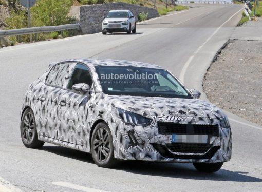El Peugeot 208 II ya rueda con carrocería definitiva