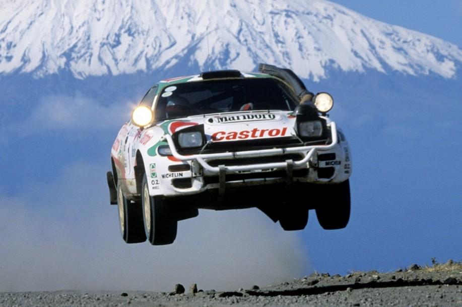 Los autos voladores del Rally mundial