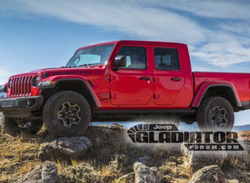 Se filtran imágenes del Jeep Gladiator
