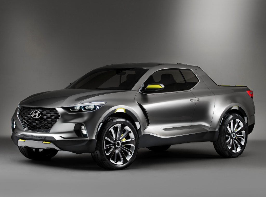 Hyundai confirma su pick up Santa Cruz para 2021