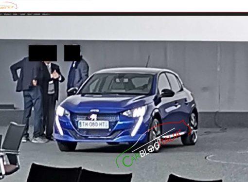 El nuevo Peugeot 208 se deja ver antes de tiempo