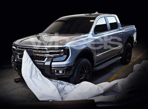 ¿Será esta la nueva Ford Ranger?