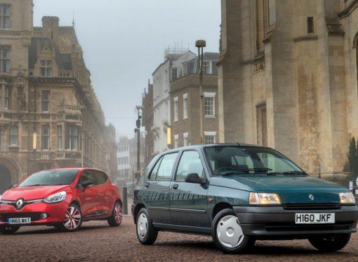 La historia del Renault Clio en fotos
