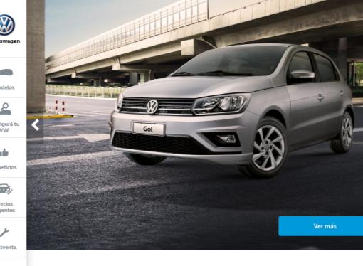 """El """"nuevo"""" Gol ya aparece en el site de VW"""