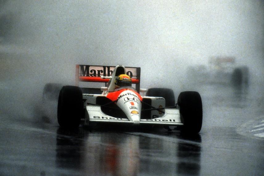 Los 11 autos con los que corrió Senna en la F1