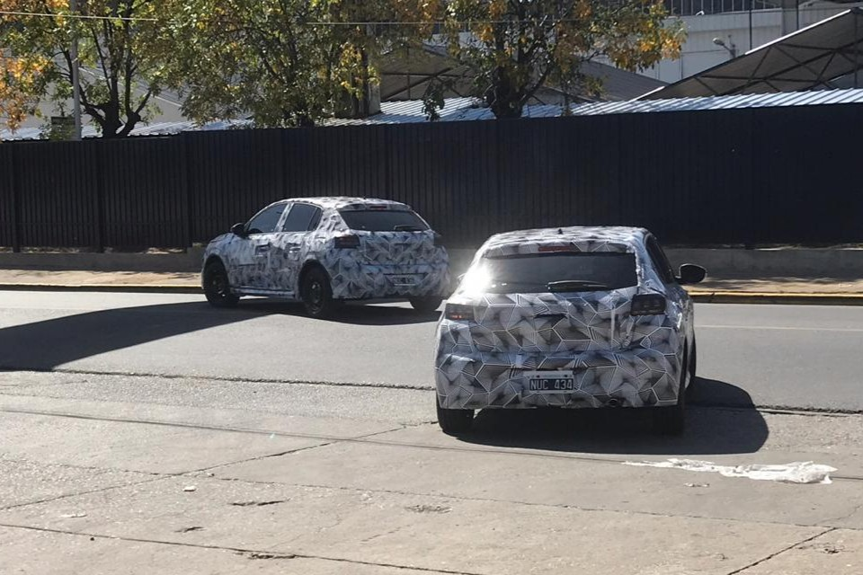 El Peugeot 208 ya rueda en la Argentina