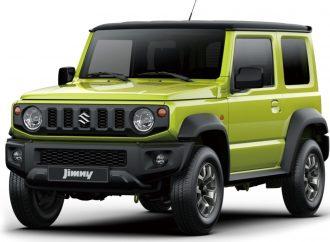 Suzuki solo deja el Jimny a la venta