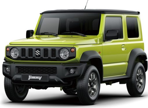 Suzuki lanza el Jimny en la Argentina