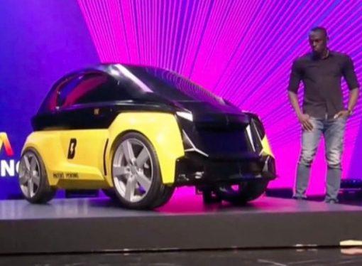 Usain Bolt lanza su propio vehículo eléctrico