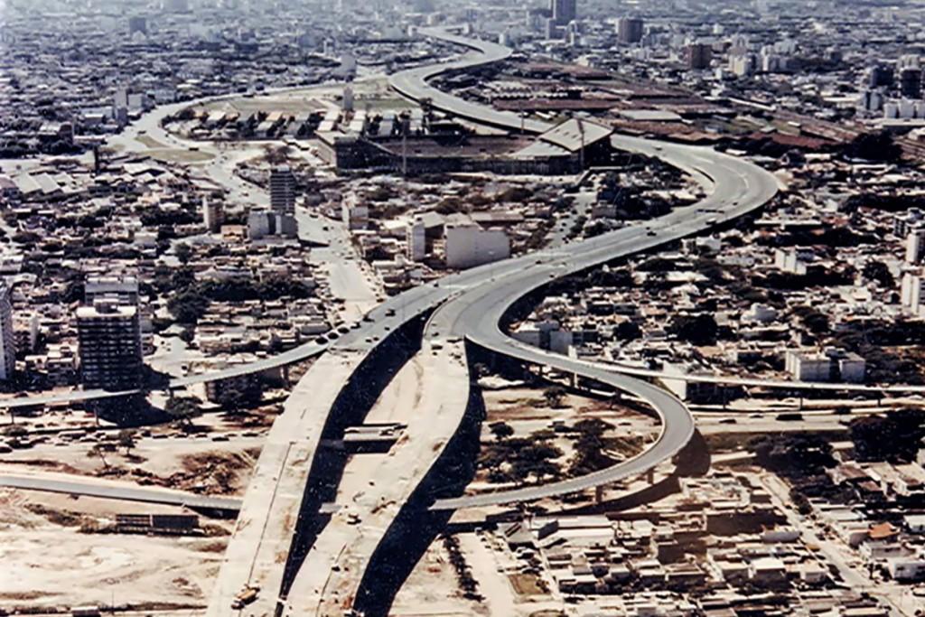 Cómo era el plan de autopistas de la Ciudad de Buenos Aires