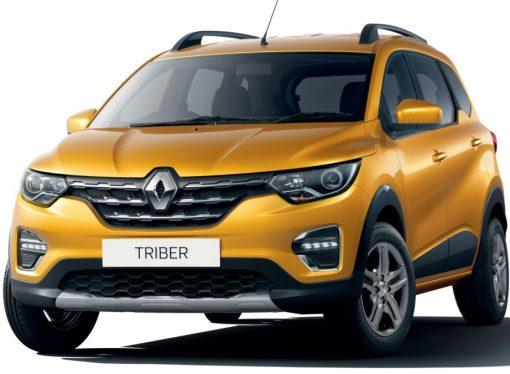 Este es el Renault Triber, la minivan del Kwid