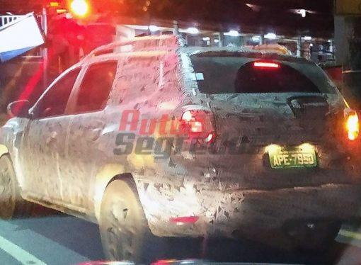 Renault ya prueba la nueva Duster brasileña