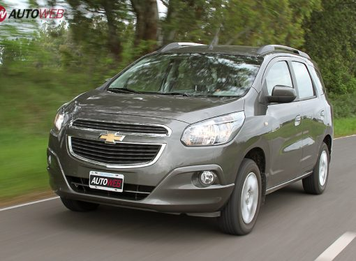 Prueba: Chevrolet Spin 1.8 LTZ 7 plazas