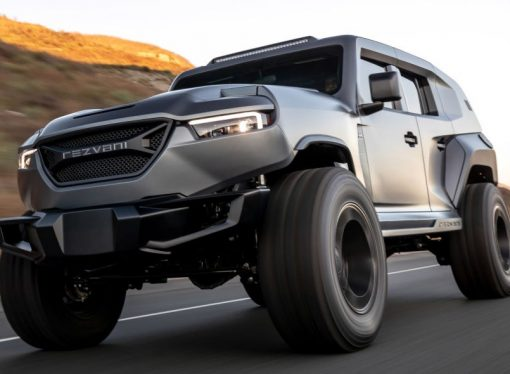Rezvani Tank: un Wrangler para James Bond