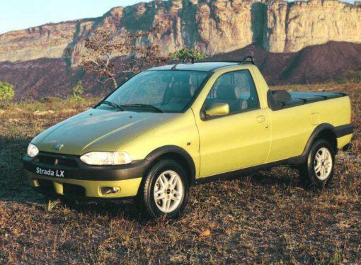 La Fiat Strada cumple 20 años en la Argentina