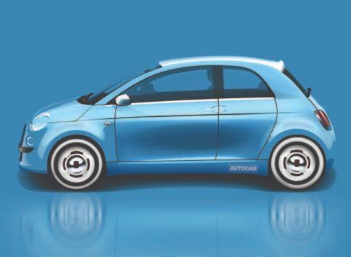 Así podría ser la nueva generación del Fiat 500