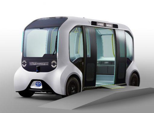 Toyota proveerá de minibuses autónomos a los JJ.OO. de Tokio
