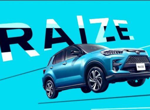 Surge la primera foto del SUV compacto de Toyota