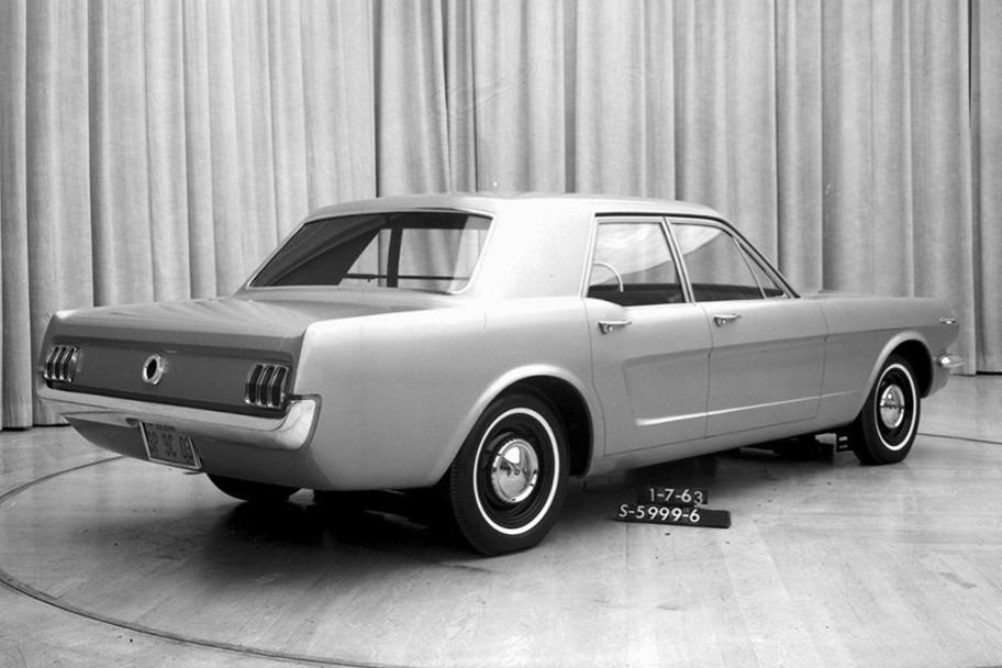 Antes del SUV: cuando el Mustang pudo haber sumado más carrocerías