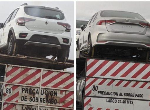 Sandero y Corolla: las novedades que vienen se pasean por Panamericana