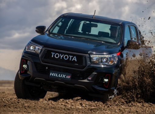 Toyota presenta la Hilux GR Sport naftera