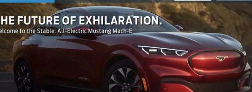 El Ford Mustang Mach E se cuela antes de su aparición oficial