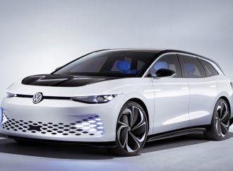 Space Vizzion, el anticipo del Passat eléctrico de Volkswagen