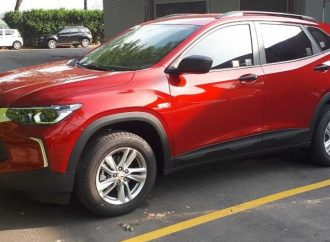 La nueva Chevrolet Tracker, casi al desnudo