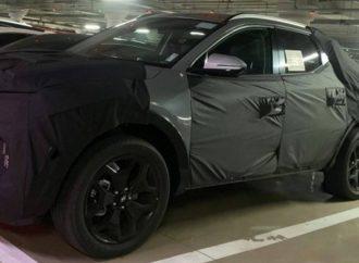 Cazan a la pick up de Hyundai con su carrocería definitiva