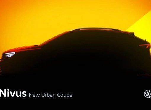 Nivus será el nombre del Volkswagen New Urban Coupé