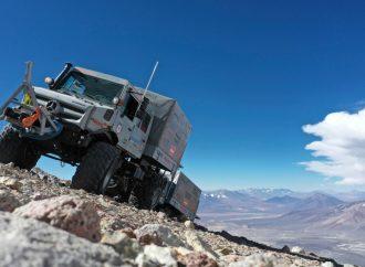 Un Unimog establece el nuevo récord de altitud: 6.694 msnm