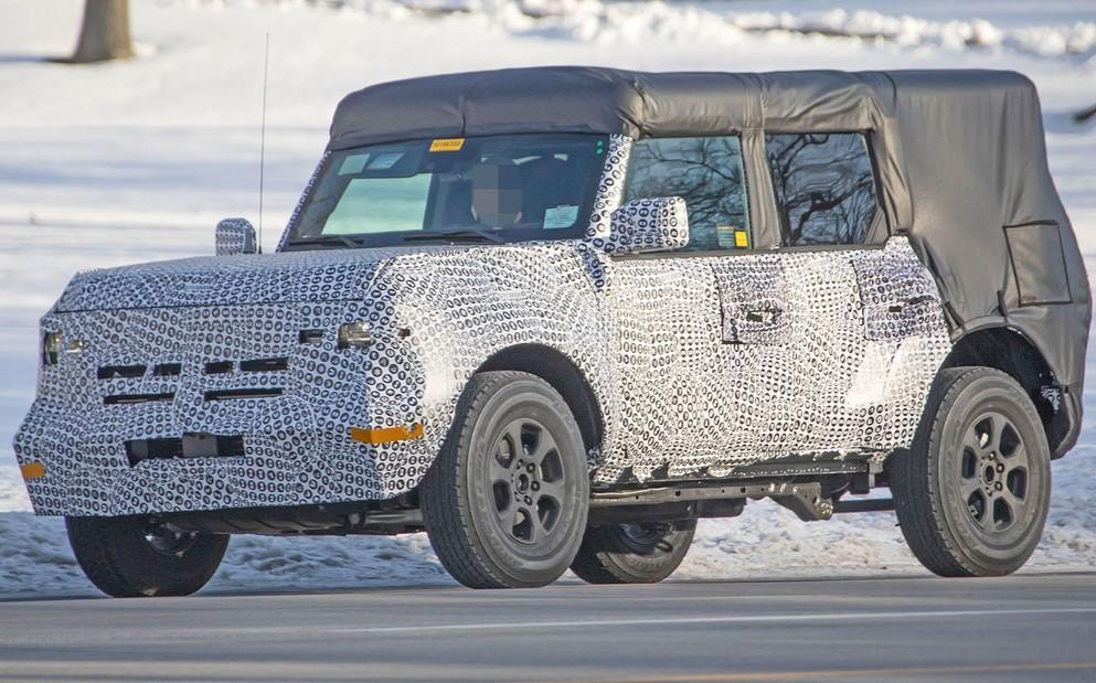 El Ford Bronco tendrá techo removible como el Wrangler