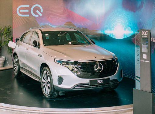 Mercedes muestra el EQC eléctrico en Cariló: se venderá en un año