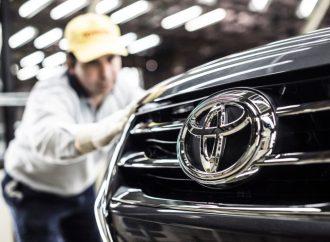 Toyota fue líder de producción en 2019 con más de 125 mil unidades