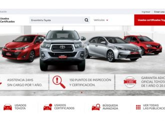 Toyota venderá usados a través de la web