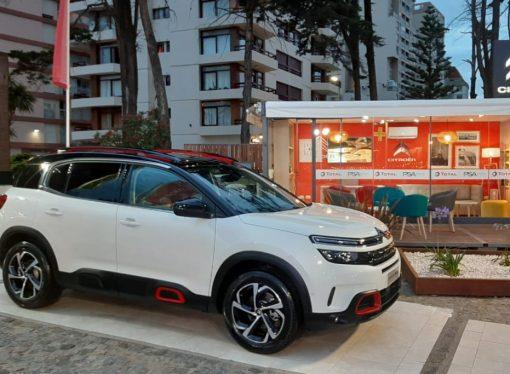 Citroën muestra el C5 Aircross en la costa