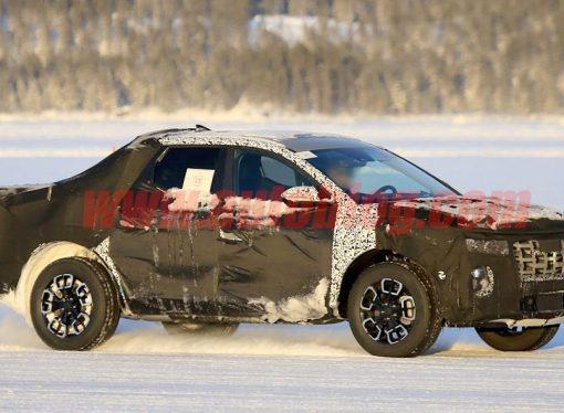 La pick up de Hyundai, cazada en mayor detalle