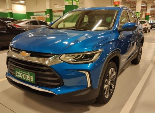 La nueva Chevrolet Tracker ya no esconde