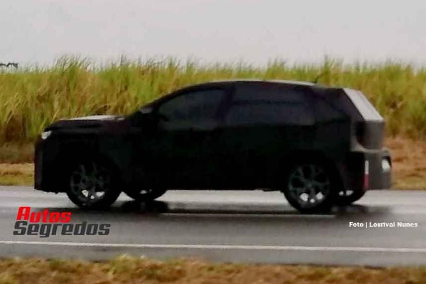 Cazan al Fiat Argo SUV en Brasil