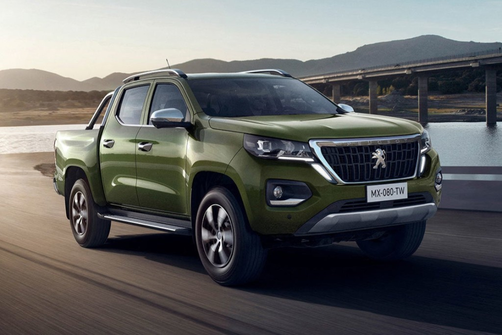 Peugeot Landtrek: así es la pick up mediana del león