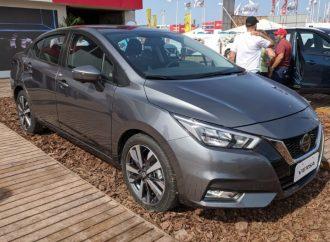 El nuevo Nissan Versa debutó en Expoagro