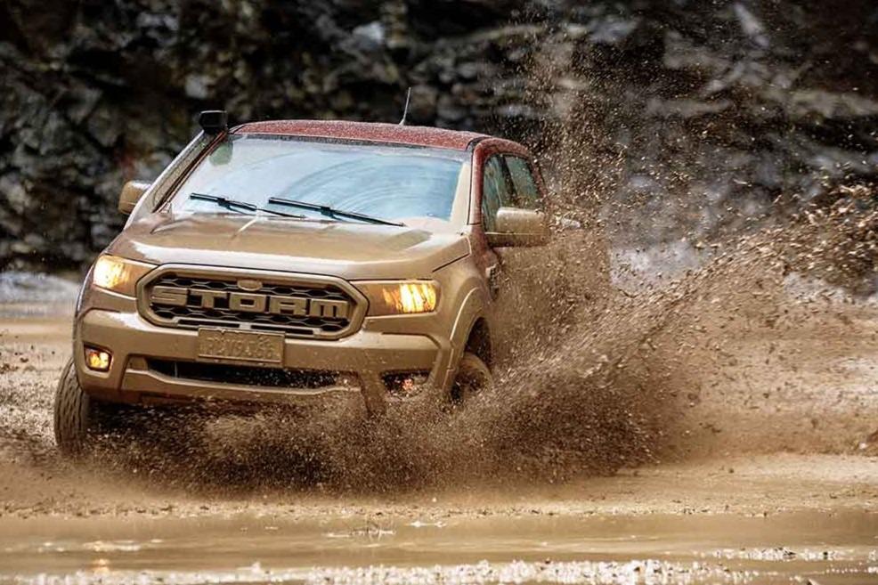 Ford presenta la Ranger Storm argentina… en Brasil