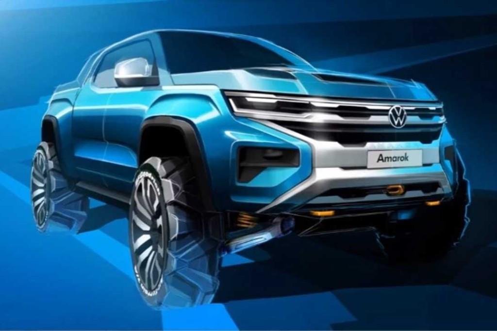 Volkswagen muestra un adelanto de Amarok y una foto de Nivus