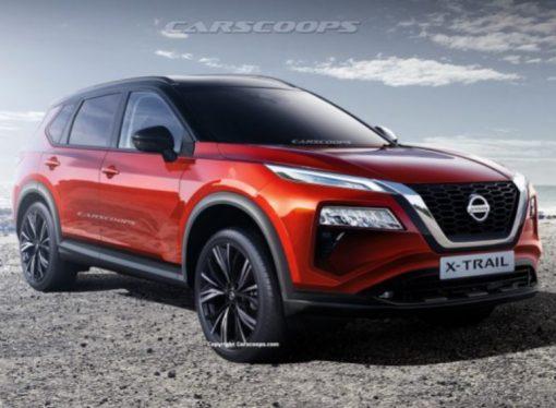 Se filtra el diseño de la nueva Nissan X-Trail