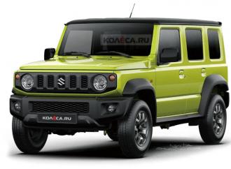 Suzuki producirá el Jimny de cinco puertas