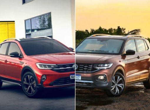 Nivus vs T-Cross: en qué se diferencian los SUV compactos de VW
