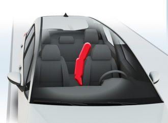 ¿Cómo es el airbag central del nuevo Honda Fit?